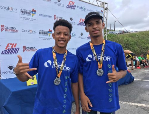 INFLOR-sponsored athletes do great on the Brazilian Duathlon Championships